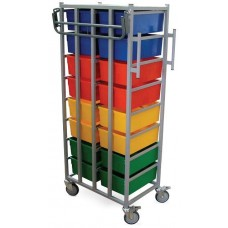 Laundry Cart - 16 Tray