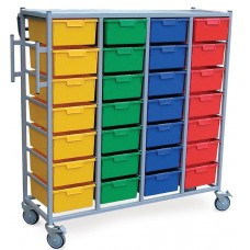 Laundry Cart - 28 Tray
