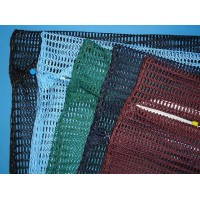 "Zipped Net Bag Colours: Large 23"" x 28"" (any colour)"
