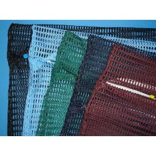 "Zipped Net Bag Colours: Large 23"" x 28"" (colour options)"