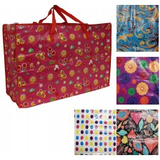 "Massive Carry Bag / Storage Bag - 29"" x 20"" x 11"" - Colourful Designs"