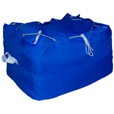 Commercial Laundry Hamper With Drawstring Closure CD401 Royal Blue