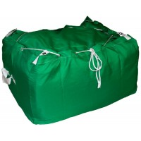 Commercial Laundry Hamper With Drawstring Closure CD404 Green