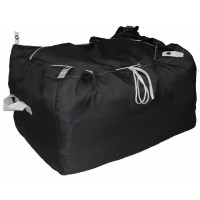 Commercial Laundry Hamper With Drawstring Closure CD418 Dark Grey