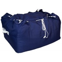 Commercial Laundry Hamper With Drawstring Closure CD425 Navy Blue