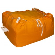 Commercial Laundry Hamper With Drawstring Closure CD406 Orange