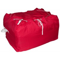 Commercial Laundry Hamper With Drawstring Closure CD405 Red