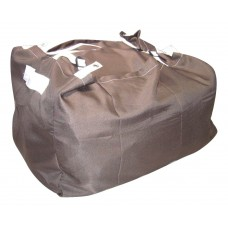 Commercial Laundry Hamper With Three Strap Closure CD507 Brown