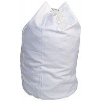 Laundry Carry Sack With Strap CD103S White