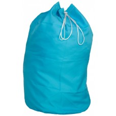 Laundry Carry Sack With Strap CD122S Turquoise