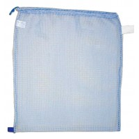 "Drawstring Net Bag : Large 24"" x 30"" DS201L Sky Blue"