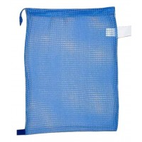 "Drawstring Net Bag Medium 17"" x 24"" DS201M Sky Blue"