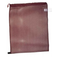 "Drawstring Net Bag : Large 24"" x 30"" DS202L Maroon"