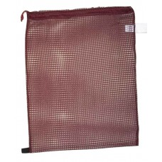 "Drawstring Net Bag Medium 17"" x 24"" DS202M Maroon"