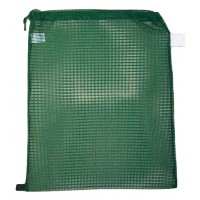 "Drawstring Net Bag : Large 24"" x 30"" DS203L Forest Green"