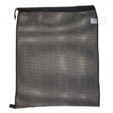 "Drawstring Net Bag : Large 24"" x 30"" DS205L Black"