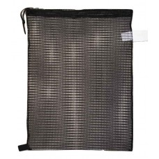 "Drawstring Net Bag Medium 17"" x 24"" DS205M Black"