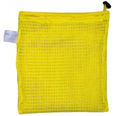 "Drawstring Net Bag: Small 9"" x 14"" With Toggle (Yellow)"