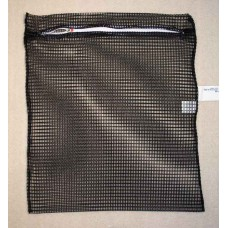 "Zipped Net Bag Colours: Large 23"" x 28"" Black"