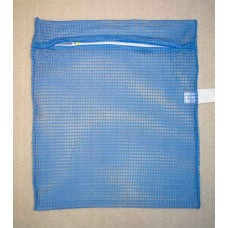 "Zipped Net Bag Colours: Large 23"" x 28"" Sky Blue"