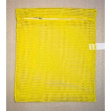 "Zipped Net Bag Colours: Large 23"" x 28"" Yellow"