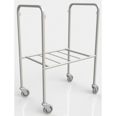 Hamper Trolley - Stainless Steel